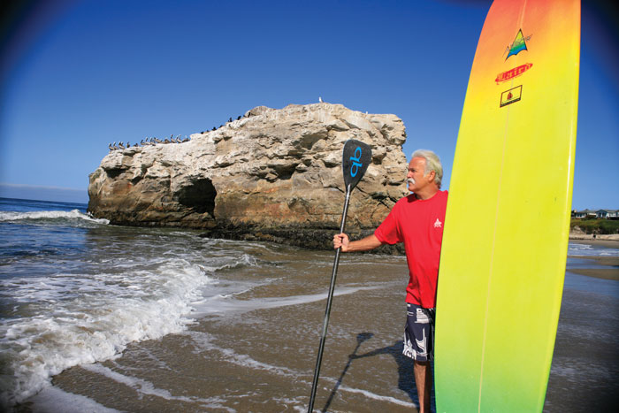 Bob Pearson at Natural Bridges, Santa Cruz. Photo: Dave Brown