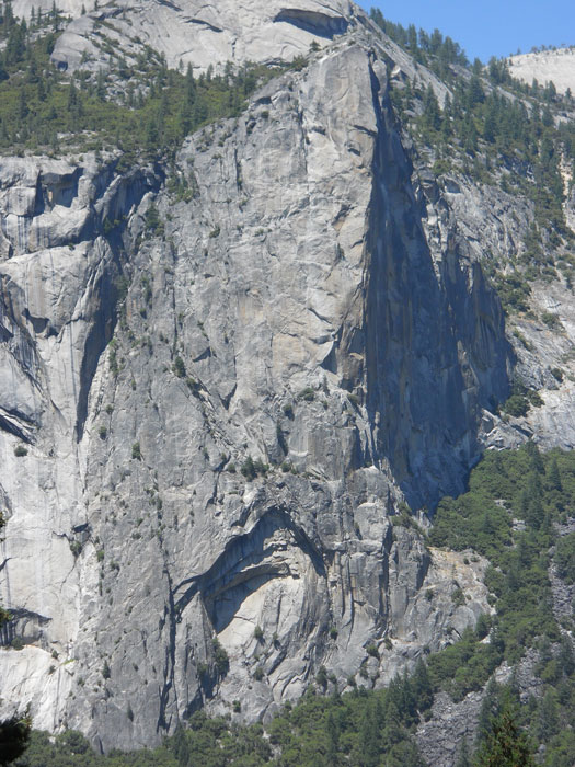 "Washington Column, Yosemite's ""little big wall."""