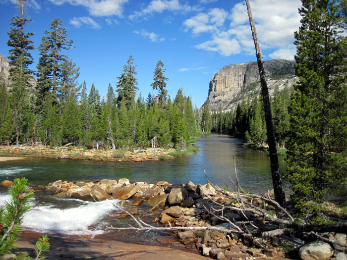 Tuolumne River in the Grand Canyon of the Tuolumne. Photo: Haven Livingston