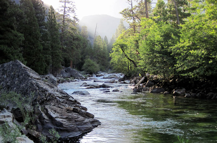 River at the end of the Grand Canyon of the Tuolumne. Photo: Haven Livingston