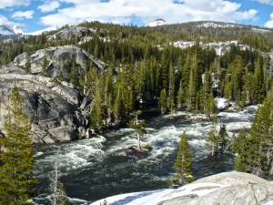 Tuolomne River through the Grand Canyon of the Tuolumne. Photo: Adam Long
