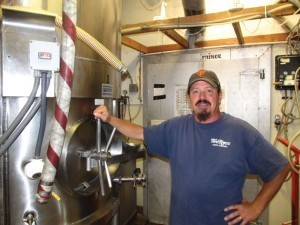 Seabright Brewery brewmaster Jason Chavez.