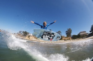 NHS surfer Austin Smith-Ford, Photo by Nelly/SPL