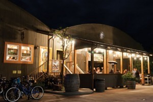 Close to Wilder Ranch, Santa Cruz Mountain Brewing is a popular post-ride hangout.