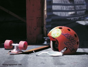 Old-school skate gear.