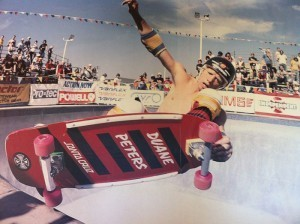 NHS skater Duane Peters goes big, Upland, CA,1980