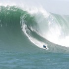 "Grant ""Twiggy"" Baker on a monster wave."