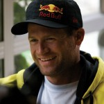 Shane McConkey gives an interview in New Zealand on February 6, 2009. Photo: Graeme Murray/Red Bull Content Pool
