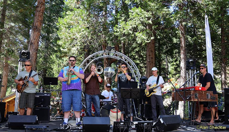 High in the Sierra, the Guitarfish Music Festival venue offers a beautiful setting in which to enjoy summer fun with family and friends.