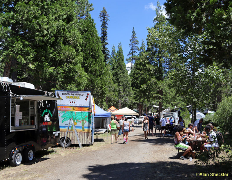 A wide variety of food and craft vendors are on hand, plus beer, wine and coffee. Festival-style tent camping is included with admission to the festival.