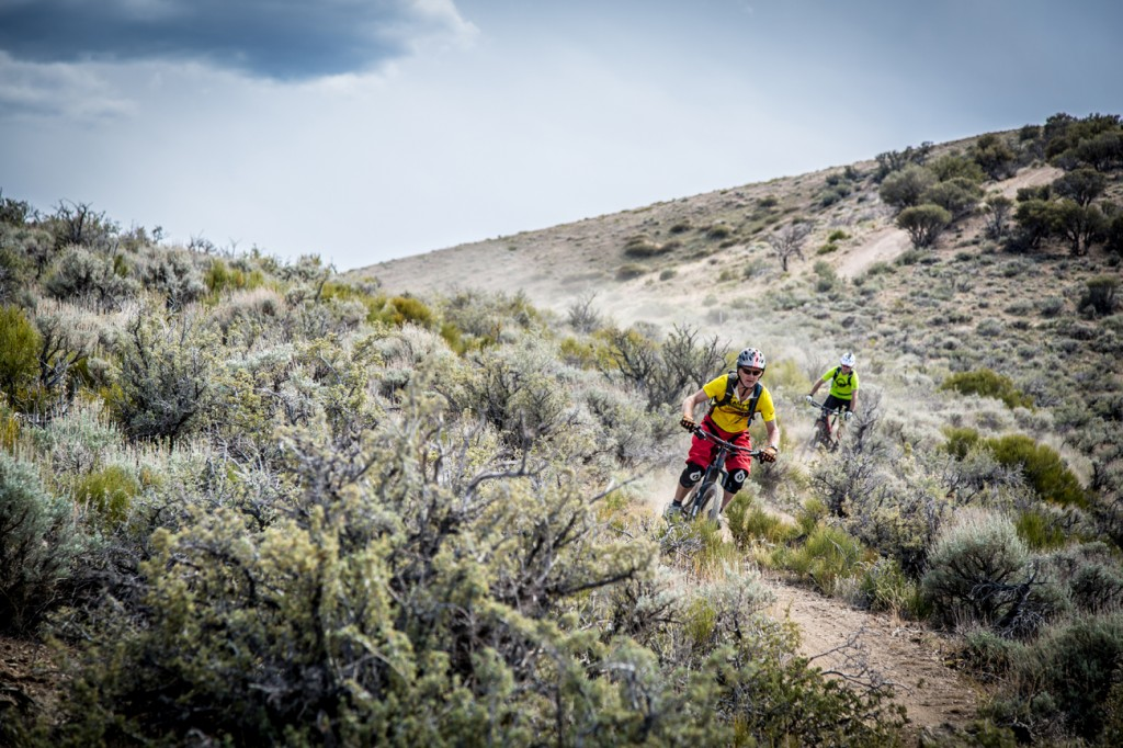 Racers took on a classic high desert course featuring exposed, scrubby terrain and loose drifty dirt. Photo: Called To Creation