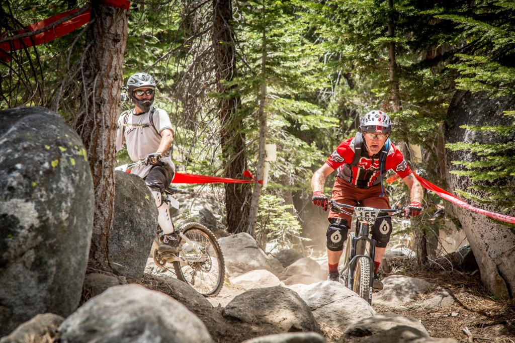 Riders who excel at navigating highly technical terrain were in their element on stage 3. James Bradley charged his way to 2nd place in his category.
