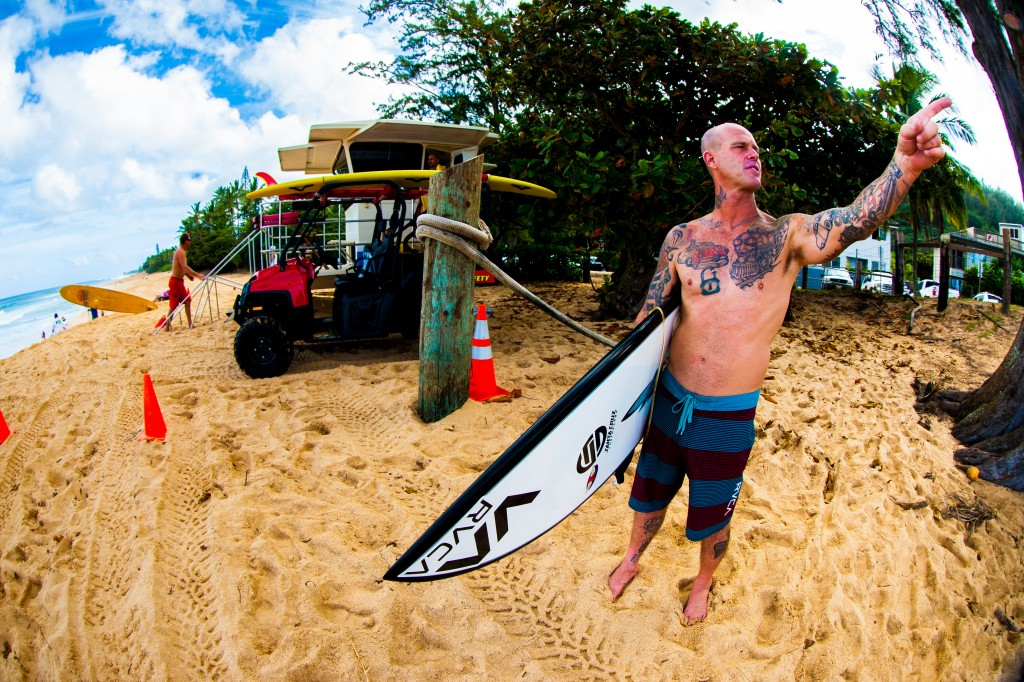 Matt's always trying to drag me over to Log Cabins … he loves that spot. Photo: Nelly/SPL