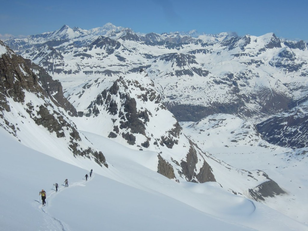 touring the mauienne alps