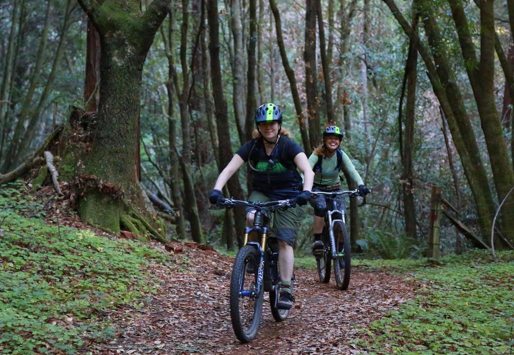 MTB rules for rainy season riding