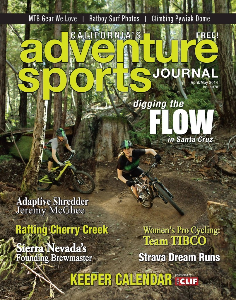 Feb/Mar 2014 issue featuring the flow trail project at SDSF