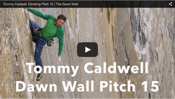 Video: Thin climbing and non-existent crimpers on The Dawn Wall