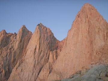 Whitney's East Buttress