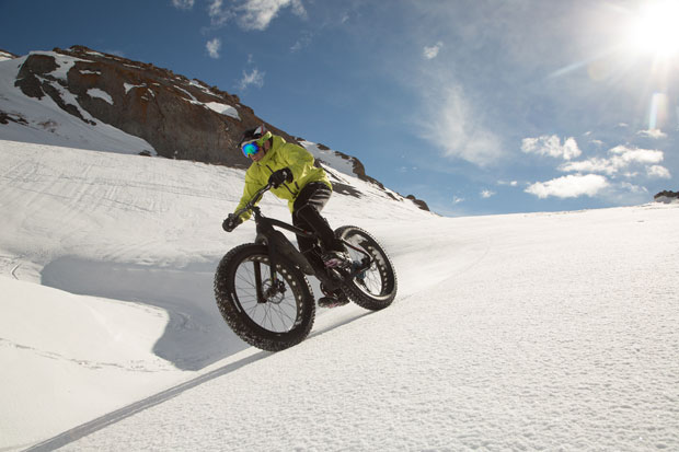 First Tracks Productions' Anthony Cupaiuolo in the Lake Tahoe backcountry (David Braun, Go West Foto).