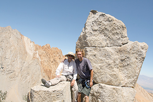 Up and Down amid Brobdingnagian Stones