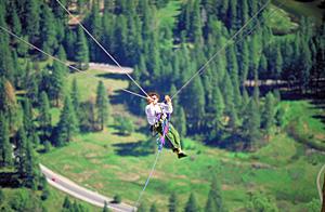 Swingin' in Yosemite