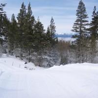 Scenic Sliding at Spooner Lake XC