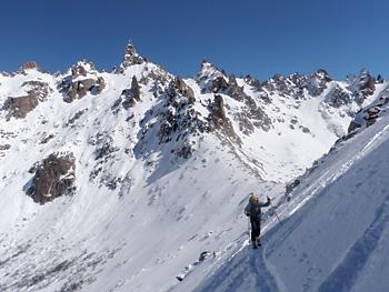 Honeymooners Hunt Patagonia Pow