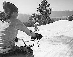 Bikes on Snow: Is ski-biking the next big winter sport?