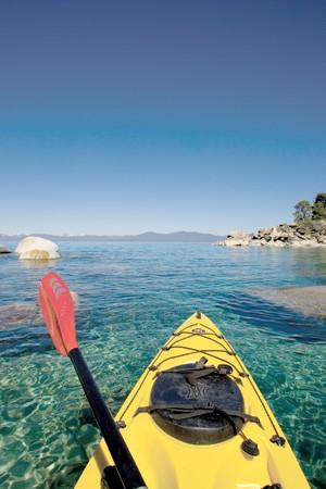 Kayaking Lake Tahoe, Simple and Care Free