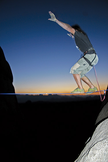 The Highs and Lows of Slacklining
