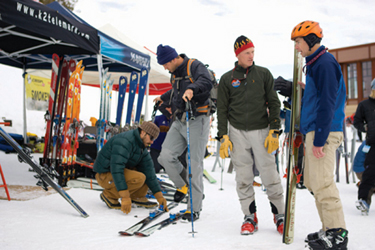 Telemark and Backcountry Festivals—No Sliding Fad