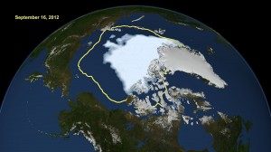 Arctic Summer Sea Ice At Lowest Levels