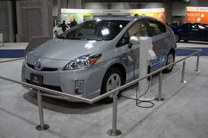 When the plug-in Prius is released, how much electricity will it use?