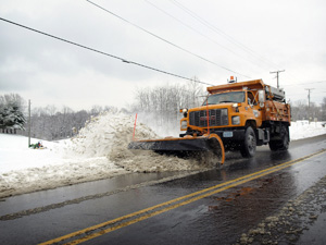 What are the environmental impacts of all the de-icing and snow removal?