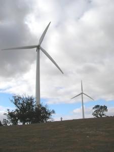 Gas-Powered Motors on Wind Turbines?