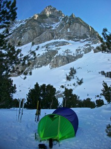 The Comforts of Ski Camping