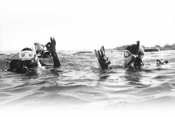 SCUBA  DIVING FOR NEANDERTHALS