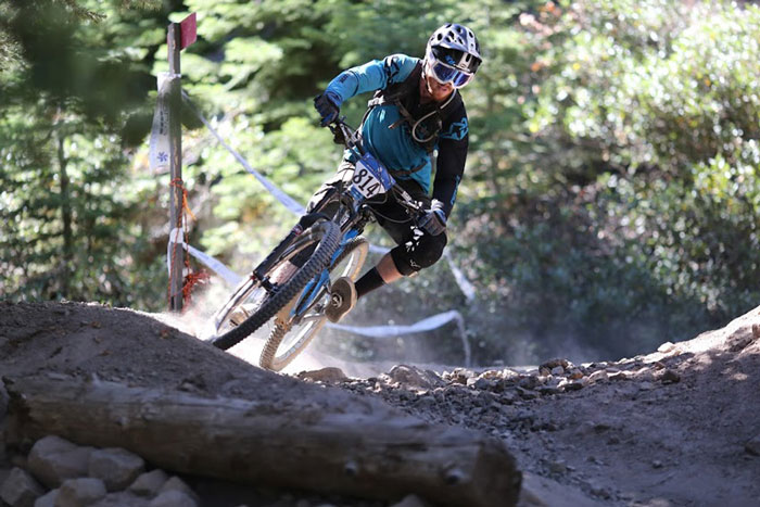 Tom Doran pinned on the 2014 Northstar course. Tom took 3rd place pro men that day. Photo by Bogdan Marian.