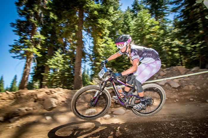 Northstar-sponsored rider Karin Edwards took the 1st place win for Expert Women at the 2014 Northstar Livewire Classic Enduro. Photo by Called to Creation.