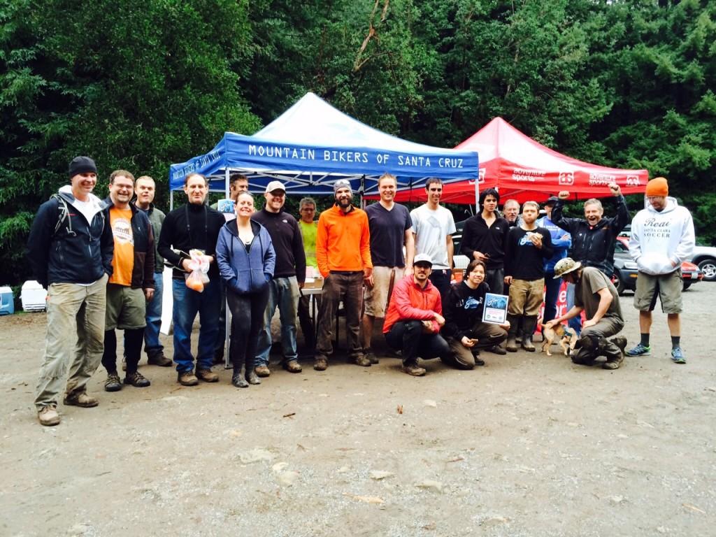Roadshow: Volunteer Trail Work Day for popular Bay Area mountain biking flow trail