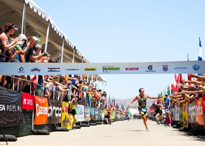 Photo courtesy Wildflower Triathlon.