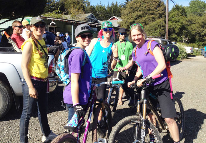 Festy fun at the Santa Cruz Mountain Bike Festival (Michele Lamelin).