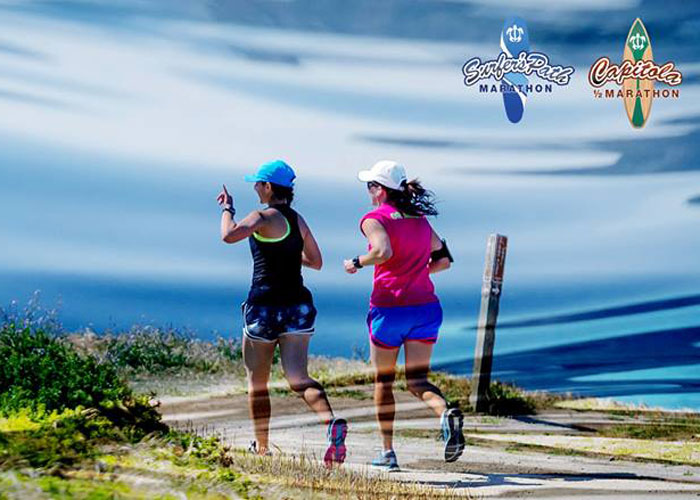 Surfer's Path Marathon and Capitola Half events offer athletes the perfect getaway