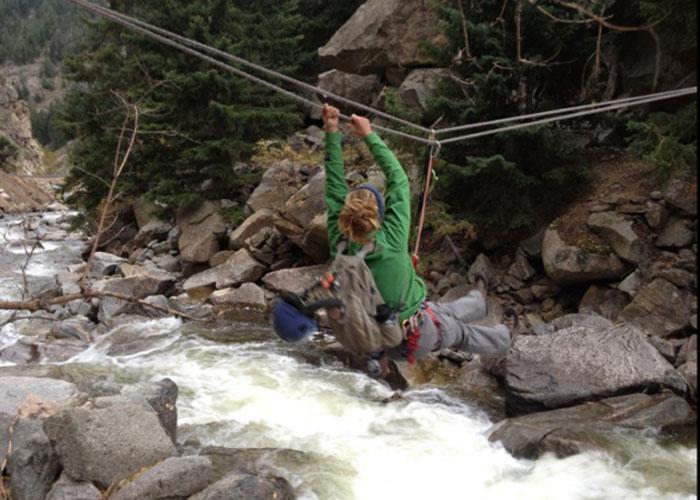 Mountain Monday: Tyrolean traverse