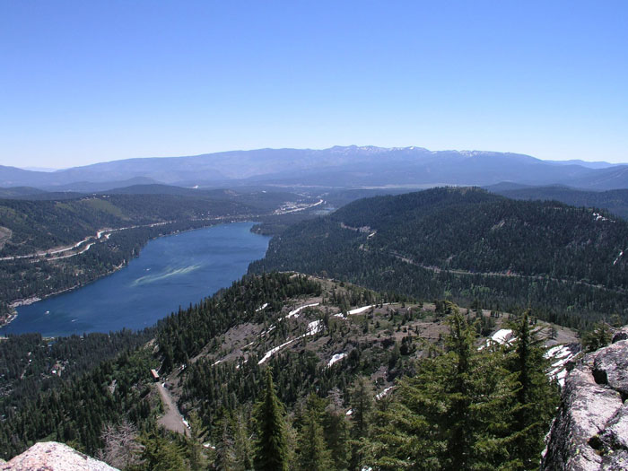 Photo of Donner Lake by Tahoe Cup.