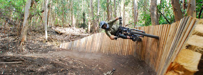 MTB trails built by Freeride and Sustainable Trail Association (FASTA).