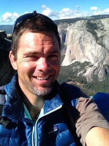Founding Editor Matt Niswonger in Yosemite with El Capitan in the background.