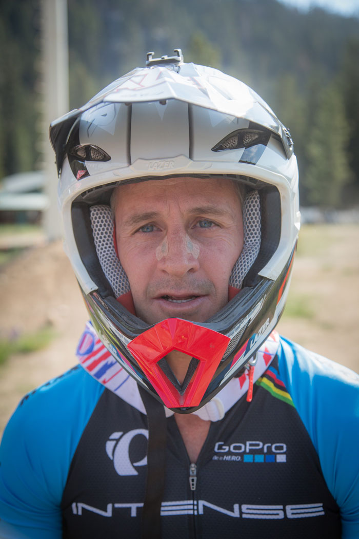Legend of the sport Brian Lopes came out to China Peak.