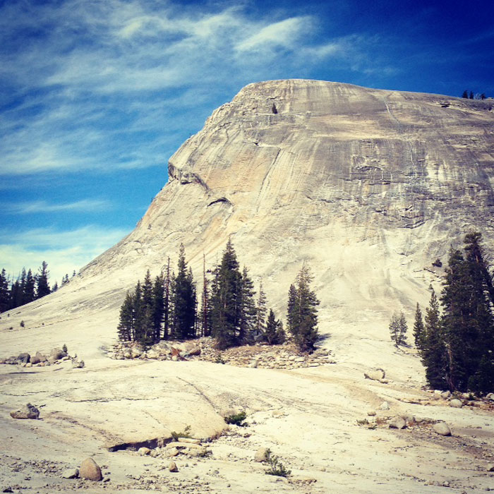 My most recent adventure to Tuolumne Meadows brought a race against a thunderstorm and perfect climbing temperatures. Go up!!
