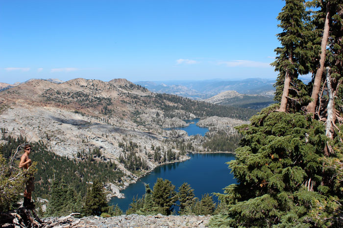 A handful of lakes lie within feet of the trail on this stretch of the PCT.